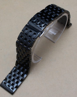 20mm Black Stainless steel watchband Bracelets fit Gear S2 smart-watch