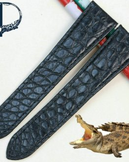Pesno Unique Round Texture Alligator Skin Leather Watch Band Women