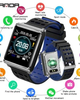 SANDA New Fitness Heart Rate Smart Watch Men Blood Pressure Smartwatch