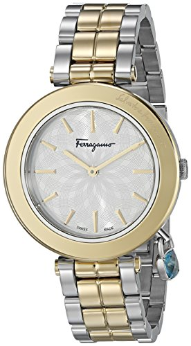 Salvatore Ferragamo Women's Intreccio Analog Display Quartz Two Tone Watch
