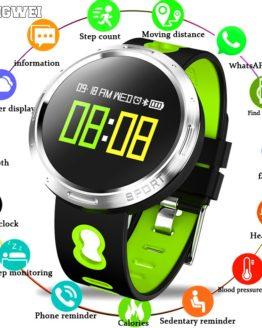 BANGWEI Smart watch IP67 waterproof Activity Fitness tracker Heart rate