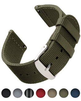 Archer Watch Straps | Premium Nylon Quick Release Replacement Watch Bands