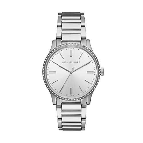 Michael Kors Women's Bailey Analog-Quartz Watch with Stainless-Steel Strap