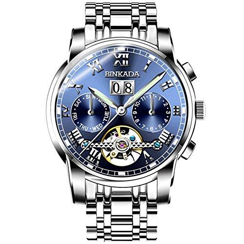 QWERTYUIOP Automatic Mechanical Watch/Hollow Luminous Waterproof