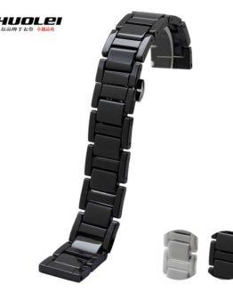 20mm Ceramic Watchband for Samsung Gear Smart Watch Band Link Strap Bracelet