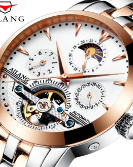 AILANG Automatic Tourbillon Men Mechanical Watch Sport Clock