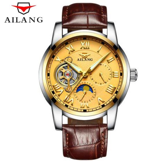Top Brand Luxury Mens Watches Tourbillon Fashion Mechanical Watch