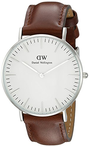 Daniel Wellington Women's St. Mawes Watch with Brown Leather Band