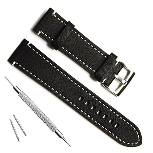 Handmade Vintage Replacement Leather Watch Strap/Watch Band