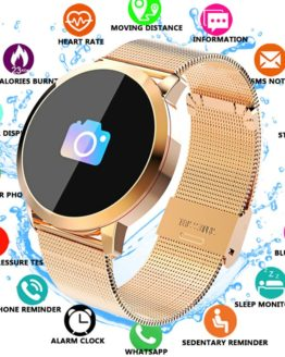 Q8 Fitness Tracker Women Smart Watch Men Smartwatch