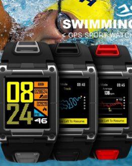 COXRY Swimming Sport Watch GPS Smart Watch Men
