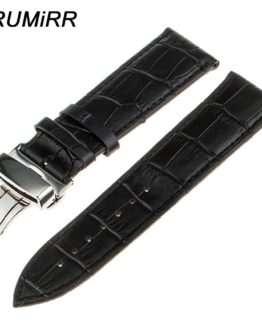 Top Layer Genuine Cow Leather Watchband for Tissot Men Women Watch Band