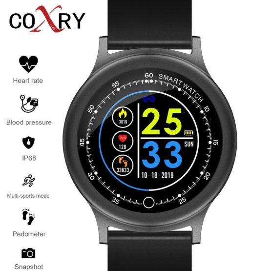 COXRY Smart Watches Women Pedometer Men Watch Sport