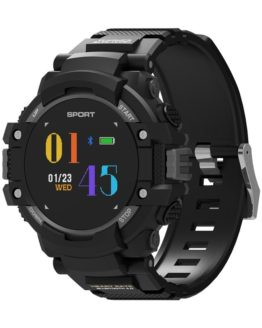 OGEDA F7 GPS Smart Watch Men Color LCD Realtime Heart Rate