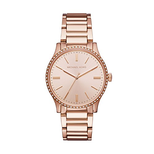 Michael Kors Women's Bailey Watch Rose Gold