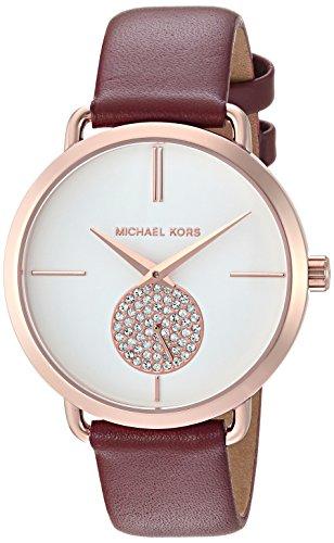 Michael Kors Women's Portia Watch Stainless Steel Analog-Quartz