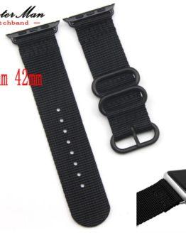Smart Zulu Nylon iWatch Watchband 38mm 42mm Quality Nylon watch straps