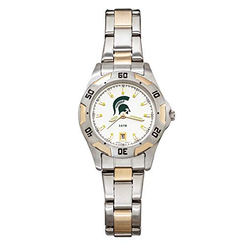 Jay Seiler Michigan State UNIV All-PRO Women's Two-Tone Watch