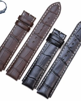 Pesno Suitable for Rado COUPOLE CLASSIC Calf Skin Genuine Leather Watch Band