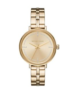 Michael Kors Women's Bridgette Watch Analog-Quartz Stainless-Steel Strap