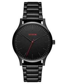 MVMT 40 Series Watches | 40 MM Men's Analog Watch | Black Link