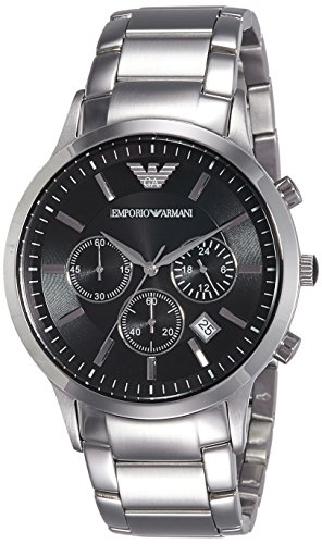 Emporio Armani Men's AR2434 Dress Silver Watch