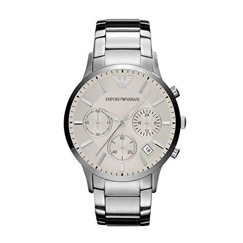 Emporio Armani Men's Stainless Steel Watch AR2458
