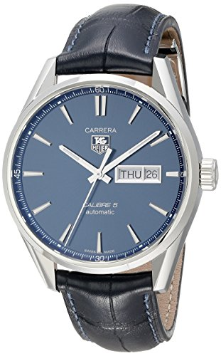TAG Heuer Men's Carrera Analog Display Swiss Automatic Blue Watch