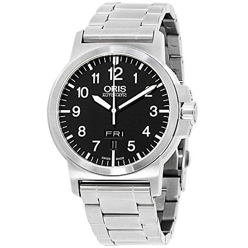 Oris BC3 Automatic Movement Black Dial Men's Watch 73576414164MB