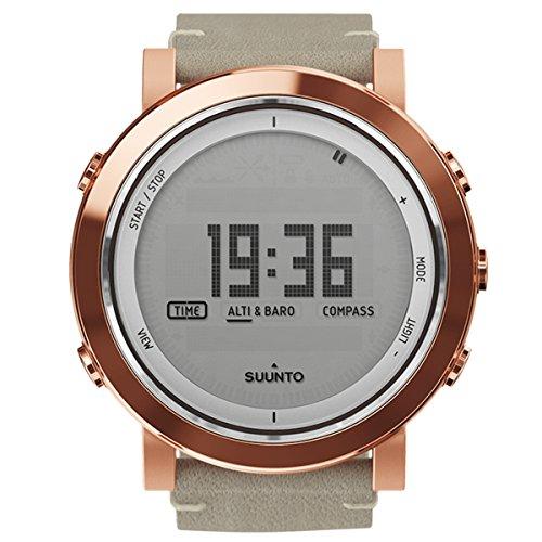 Suunto Men's Essential Copper Leather Swiss Quartz Watch