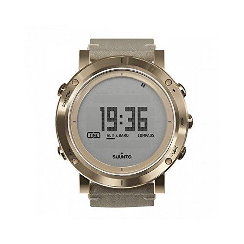 Suunto Mens Essential Gold Digital Display Quartz Watch