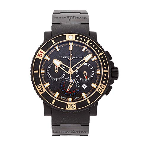 Ulysse Nardin Black Sea Mechanical (Automatic) Black Dial Mens Watch