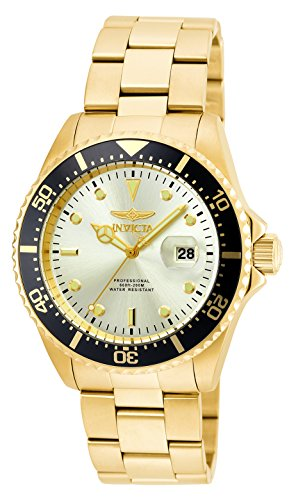 Invicta Men's 'Pro Diver' Quartz Stainless Steel Casual Watch (Model: 22065)