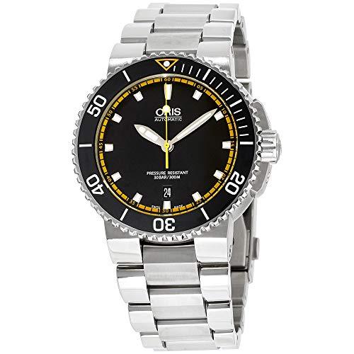 Oris Aquis Automatic Movement Black Dial Men's Watch 73376534127MB