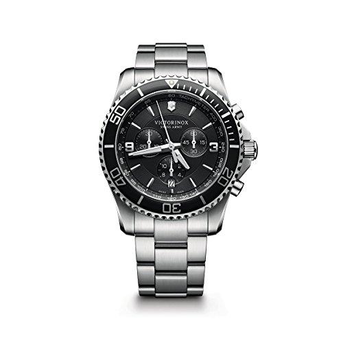Victorinox Swiss Army Maverick Stainless Steel Chronograph Watch