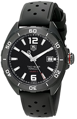 Tag Heuer Formula 1 Calibre 5 Black Titanium Automatic Watch
