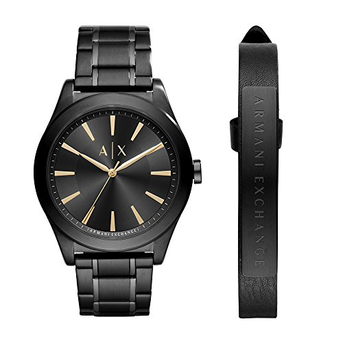Armani Exchange Men's Watch and Strap Gift Set