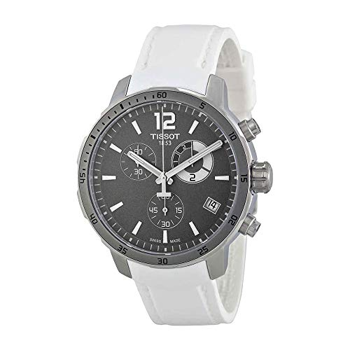 Tissot Men's Quickster Analog Display Swiss Quartz White Watch