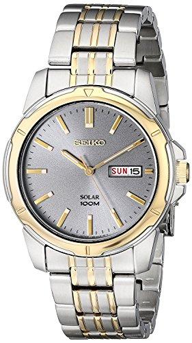 Seiko Men's SNE098 Two-Tone Stainless Steel Watch
