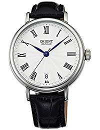 Orient Soma Automatic Dress Watch with White Dial and Stainless Steel Case ER2K004W