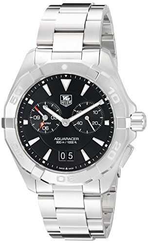 Tag Heuer Aquaracer Chronograph Black Dial Stainless Steel Mens Watch