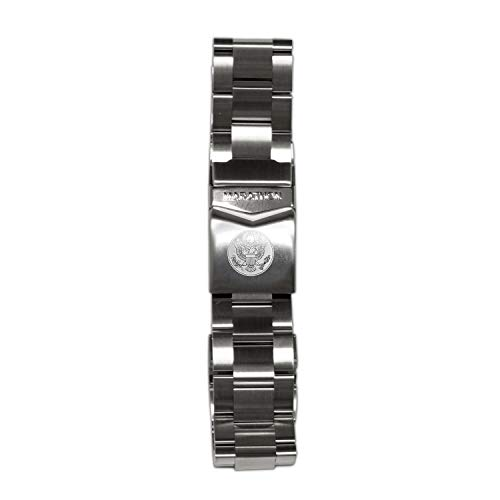Marathon WW005016US Stainless Steel, Military Grade Bracelet's (18 mm, US Great Seal)