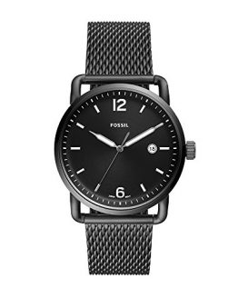 Fossil Men's The The Commuter Quartz Watch with Stainless-Steel Strap, Grey, 22 (Model: FS5419)