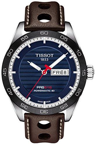 Tissot PRS 516 Automatic Blue Dial Men's Watch