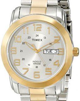 Timex Men's Highland Street Two-Tone Stainless Steel Bracelet Watch