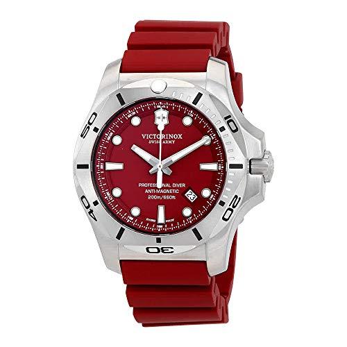 Victorinox V241735 INOX Men's Watches, Red/Red, 45mm