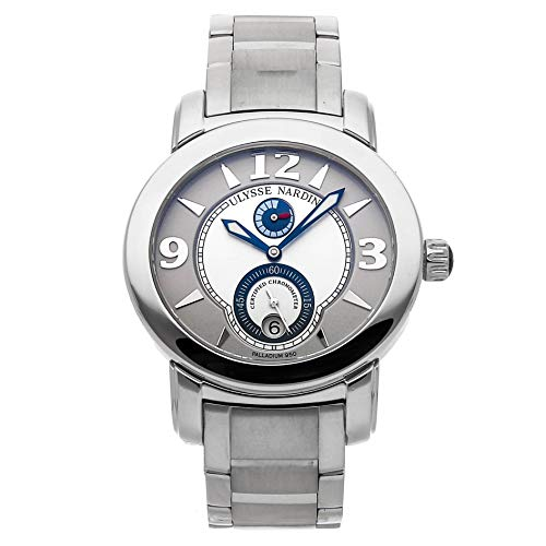 Ulysse Nardin Macho Palladium Mechanical (Automatic) Silver Dial Mens Watch