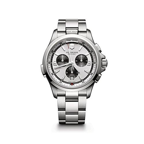 Victorinox Men's Night Vision Titanium Swiss-Quartz Watch