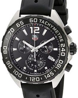 TAG Heuer Men's Formula 1 Analog Display Swiss Quartz Black Watch