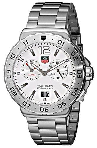 TAG Heuer Men's Formula 1 White Dial Grande Date Alarm Watch